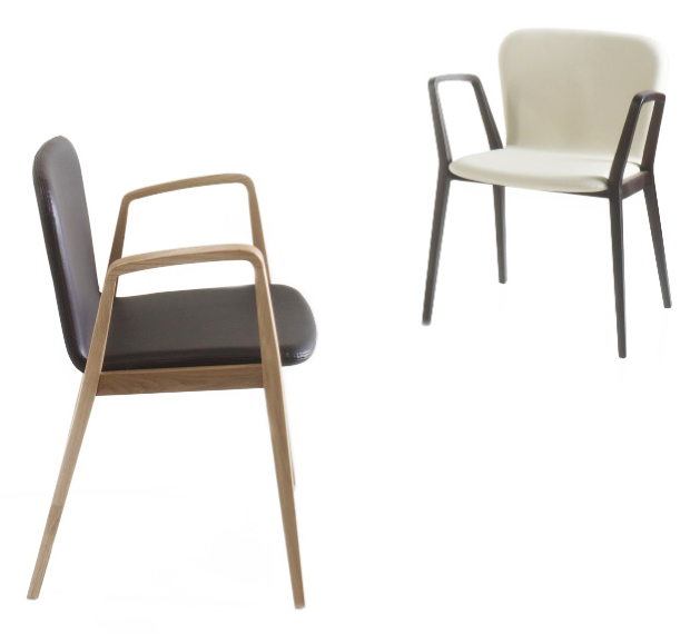 Elegant The Legs And The Arms Are Made Of Stained Wood Or Natural Oak. It Is  Manufactured In Two Versions: Completely Upholstered, In A Single Colour Or  Combined ...